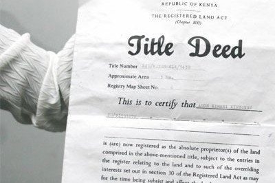 title deed Thailand
